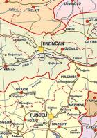 erzincan haritası resimleri