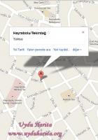 hayrabolu uydu görüntüsü
