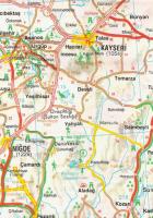 nevşehir haritası resimleri