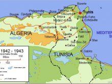 0 Map Tunisia Tunisia Campaign 1942 43 0A.jpg