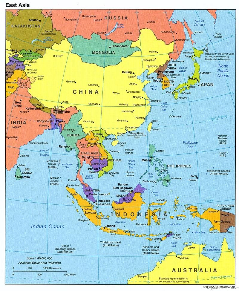 kuzey kore haritası