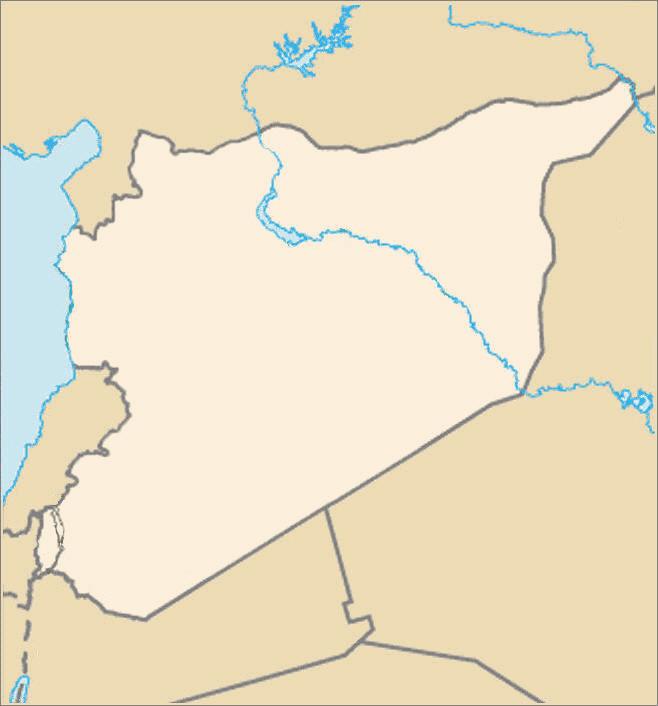 blank of syria
