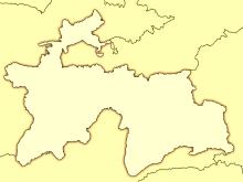 tacikistan map