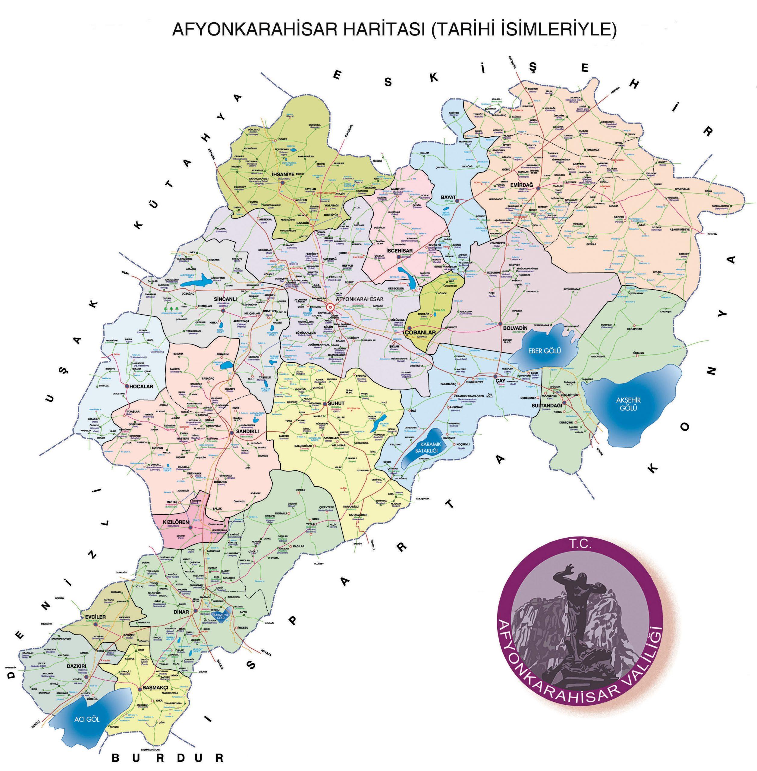afyon haritasi 1