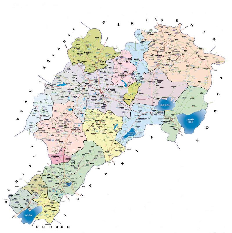 afyon haritasi