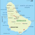 Barbados Haritası