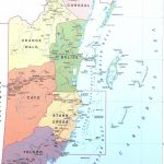 Belize Haritası
