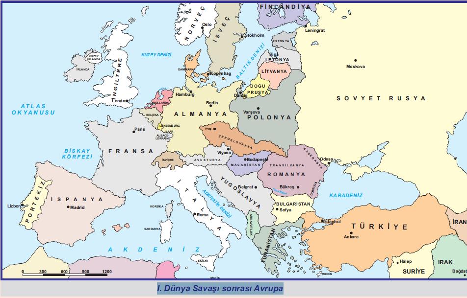 avrupa haritas u0131