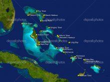 Bahamalar Haritası