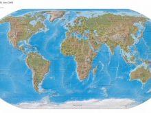 dunya haritasi