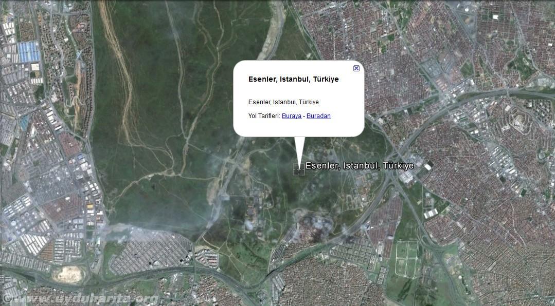 esenler uydu görüntüsü