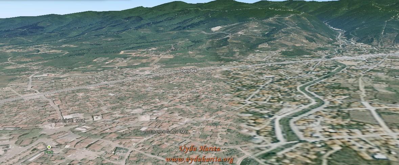 hendek uydu görüntüsü