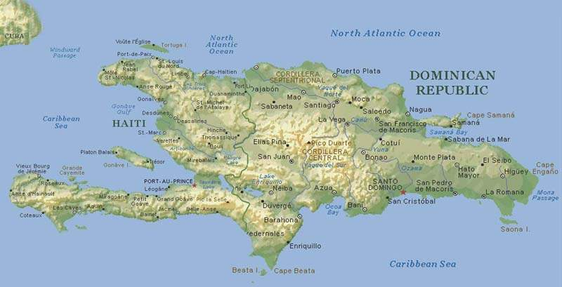 Dominika Haritası