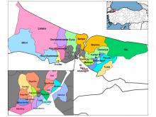 istanbul ilçe haritası resimleri