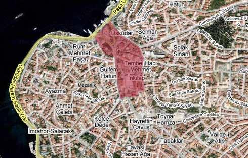 istanbul avrupa yakası haritası