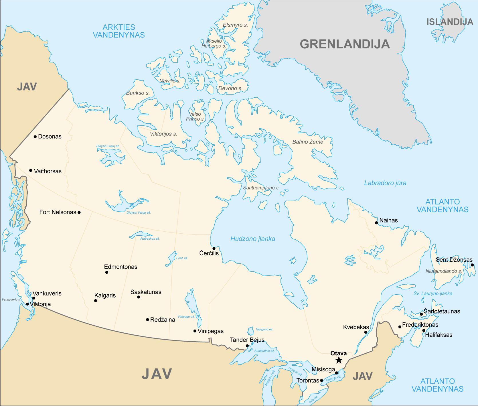 kanada_harita_lt