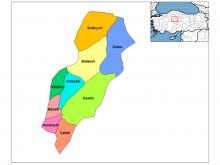 kırıkkale haritası resimleri