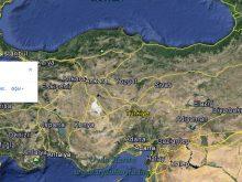 malkara uydu görüntüsü