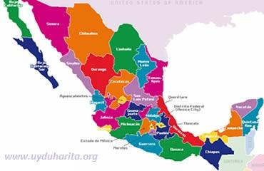 Meksika Haritası