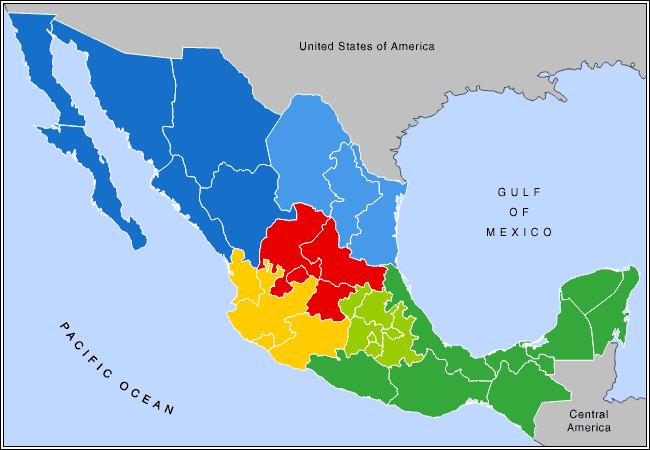 meksika_regional_harita