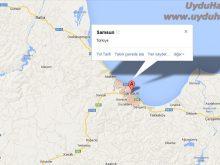 samsun uydu görüntüsü