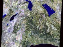 ısparta uydu görüntüsü