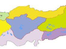 turkiye bolgeler dilsiz haritasi