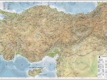 turkiye fiziki haritasi 1