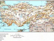 turkiye fiziki haritasi 2