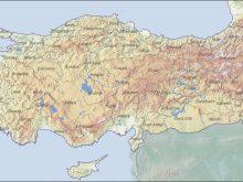 turkiye fiziki haritasi 3