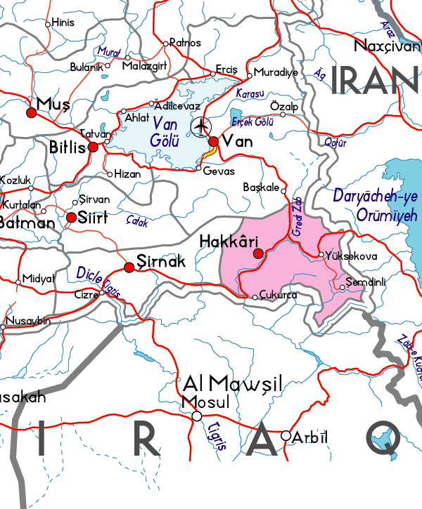 turkiye_hakkari_harita